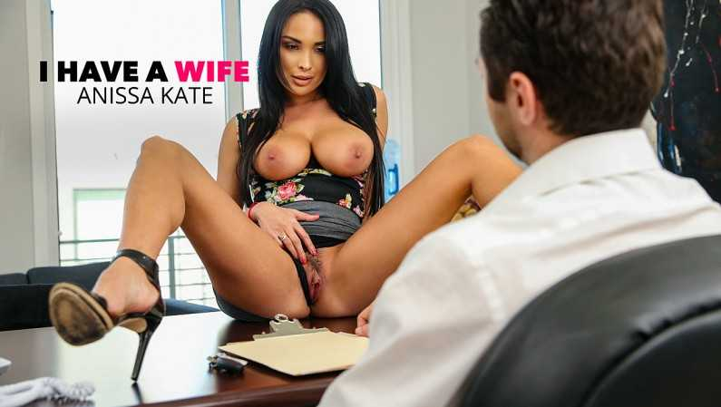 IHaveAWife Anissa Kate Fucks The Car Salesman To Get A Better Deal!!!!